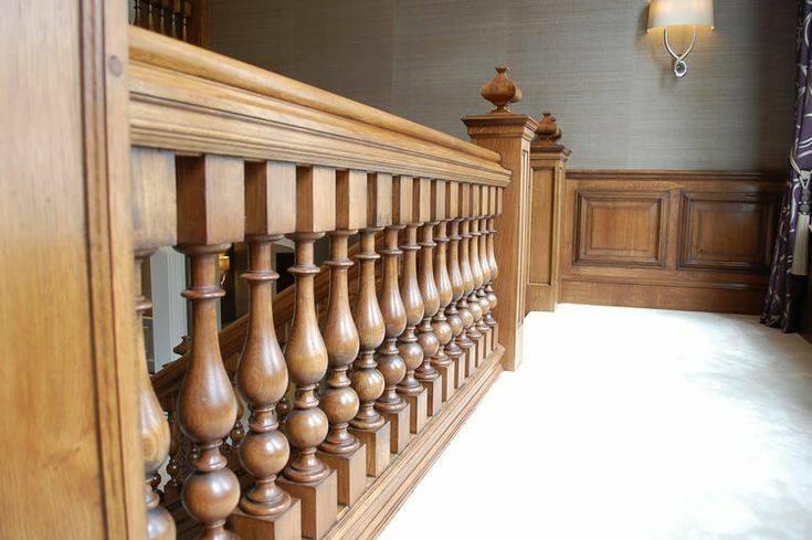 انواع مدل های مختلف نرده چوبی