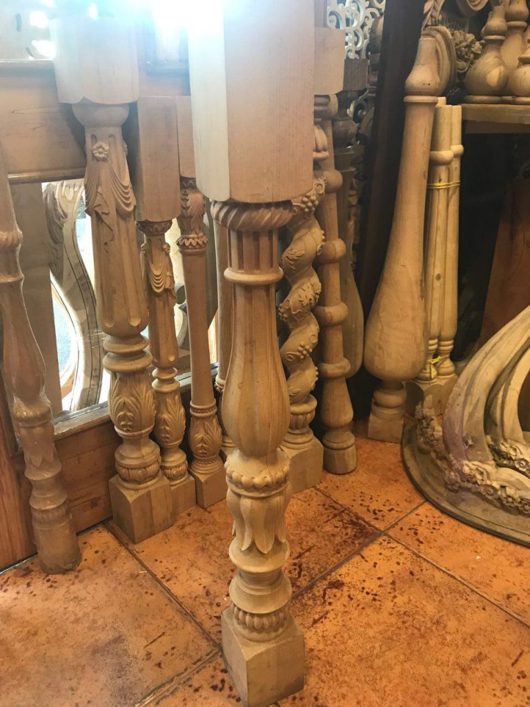 نرده چوبی CNC