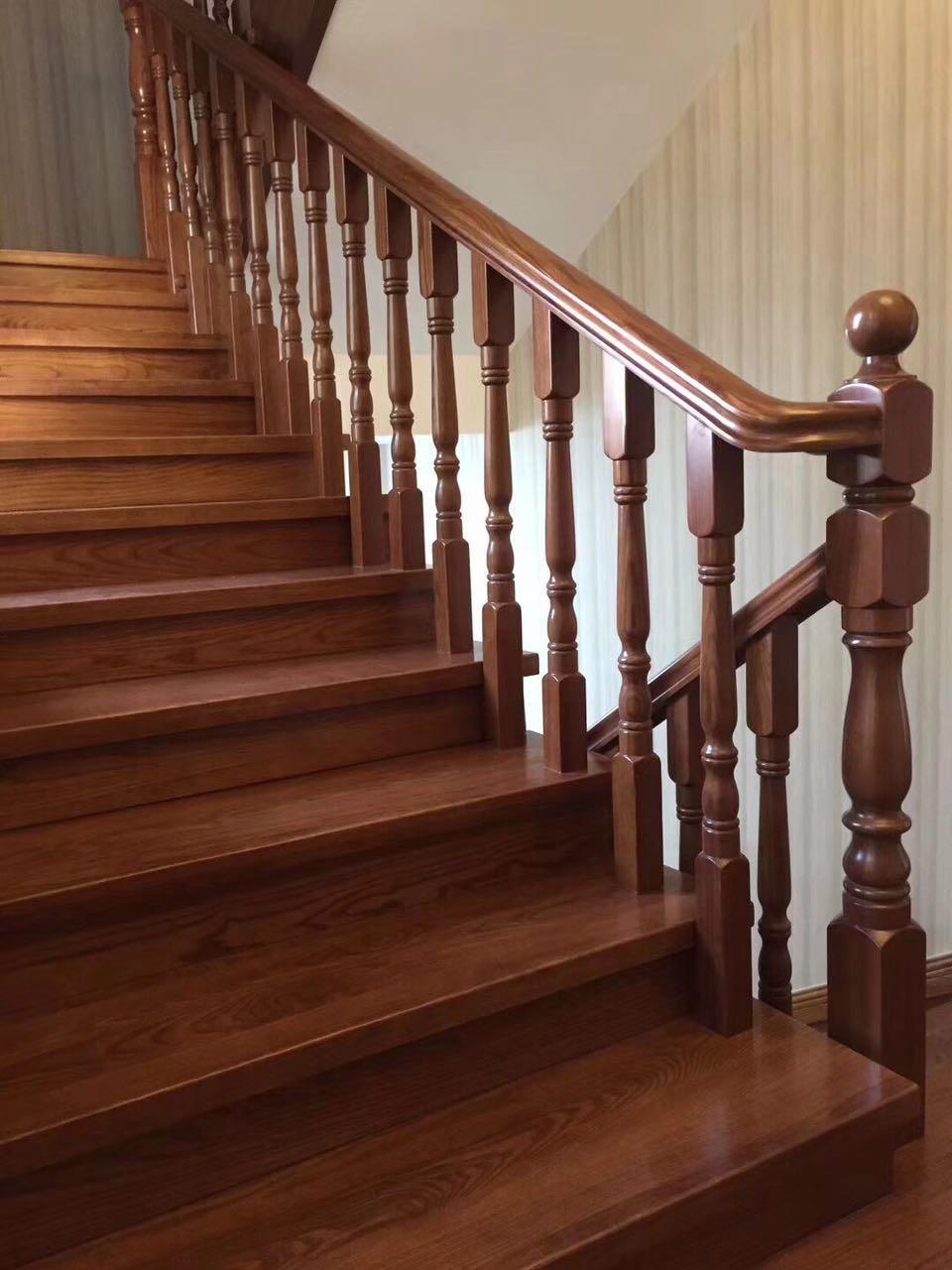 راه پله چوبی 3